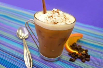 кофе фраппе с мороженным