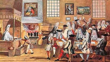 Кофейня в Англии