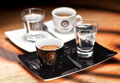 Кофе еспрессо Корретто
