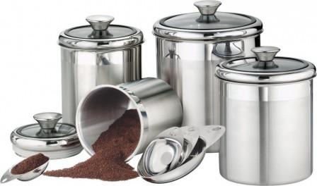 посуда для храения кофе