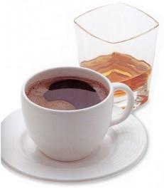 Кофе с ванилью и ликером