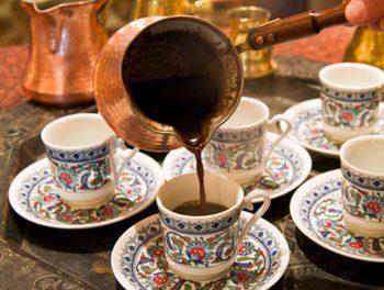 Подача кофе